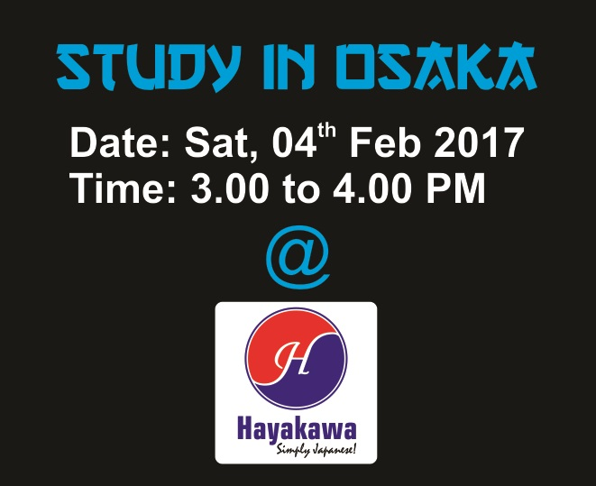 Study in Osaka!
