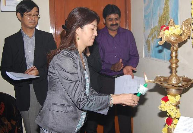 Inauguration of 26th Batch for Japanese language by Ms. Kayoko Furukawa, Consul, Consulate-General of Japan