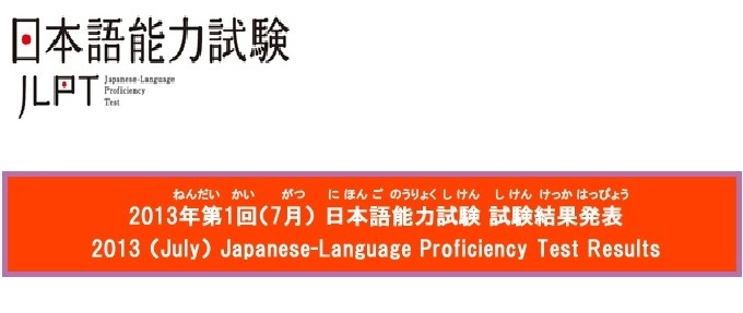 JLPT Results are Available Online