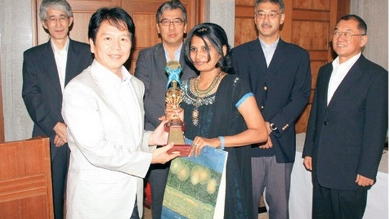 Hayakawa won First in Japanese Speech Contest - 2015