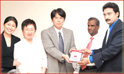Distance Education Course for Japanese Language